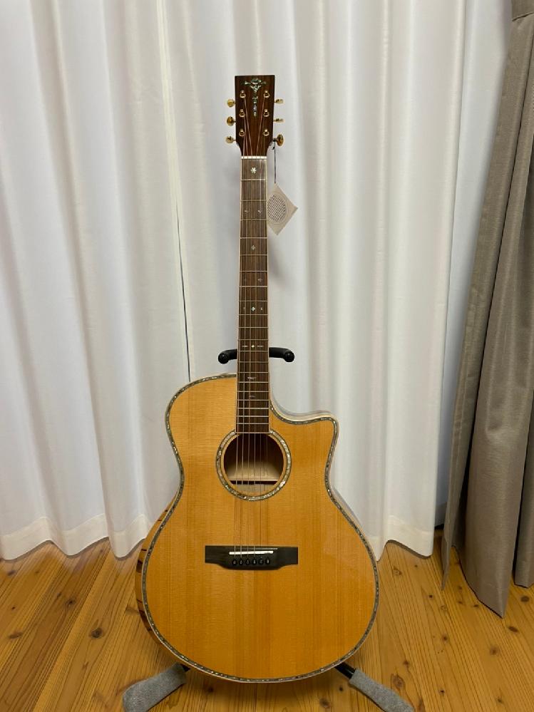 このギターの詳細を教えていただきたいです♪知人からもらったのですが、多分高そうだなとは思うのですな、Ayersのものかなとは思うのですが‥どなたか詳しいことを教えていただきたいです♪ いくらくら...