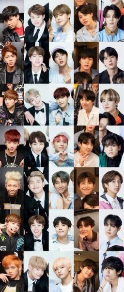 BTS 7人で最も垢抜けたと思うメンバーは誰ですか??デビュー当初と比較してもいいですし、数年単位で雰囲気が変わっていくなぁという方でもいいです。 ※写真は参考程度です
