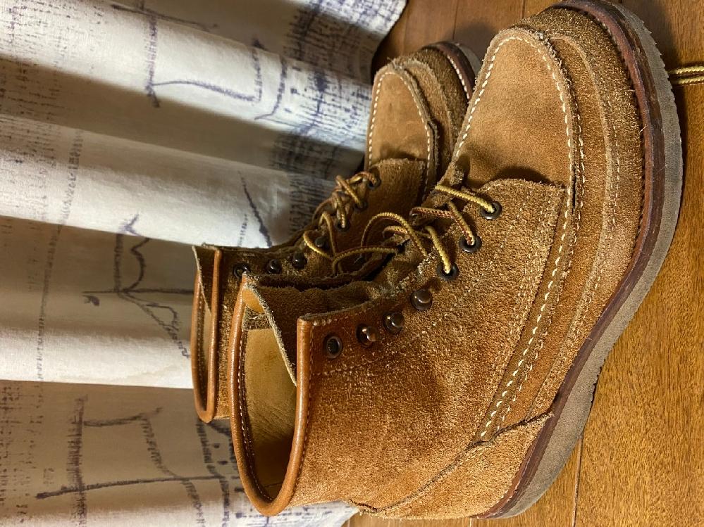 10年前に購入したDannerの靴です。 品番が分かる方いらっしゃいますか。 タグが付いておらず、特定できません。