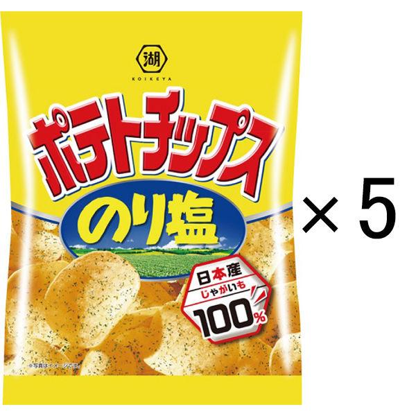 ▲「ポテチのり塩」と合う飲み物は(・・?