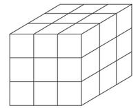 以下の確立の問題(GMAT)の解法が理解できず、解説いただけると幸いです。 【問題】 Each of 27 white 1-centimeter cubes will have exactly one face painted red. If these 27 cubes are joined together to form one large cube, as shown above, ...