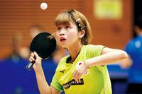 この卓球選手の名前を教えて下さい。