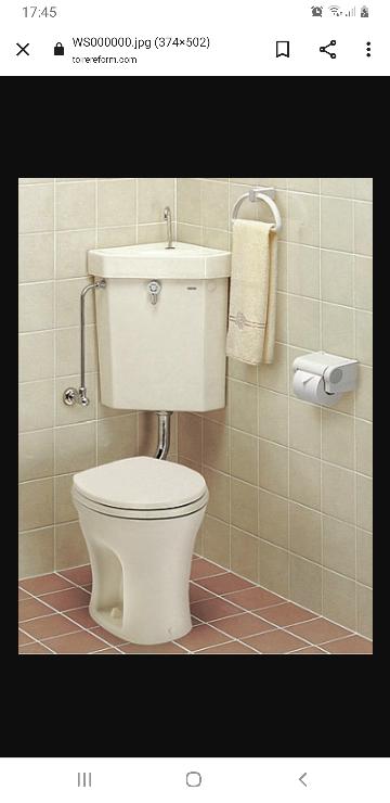ーーートイレのDIYについてーーー 我が家は古き良きトイレです。笑 床はDIYして洋風になりましたが これはお借りした画像ですが ほぼこのようなトイレです。 タンクが見えないようにしたいので いろいろ調べましたが トイレの後ろに四角いタンクが着いている形の DIYしか出てきません。 そりゃそーだよな。 どなたか知恵をお貸しください。