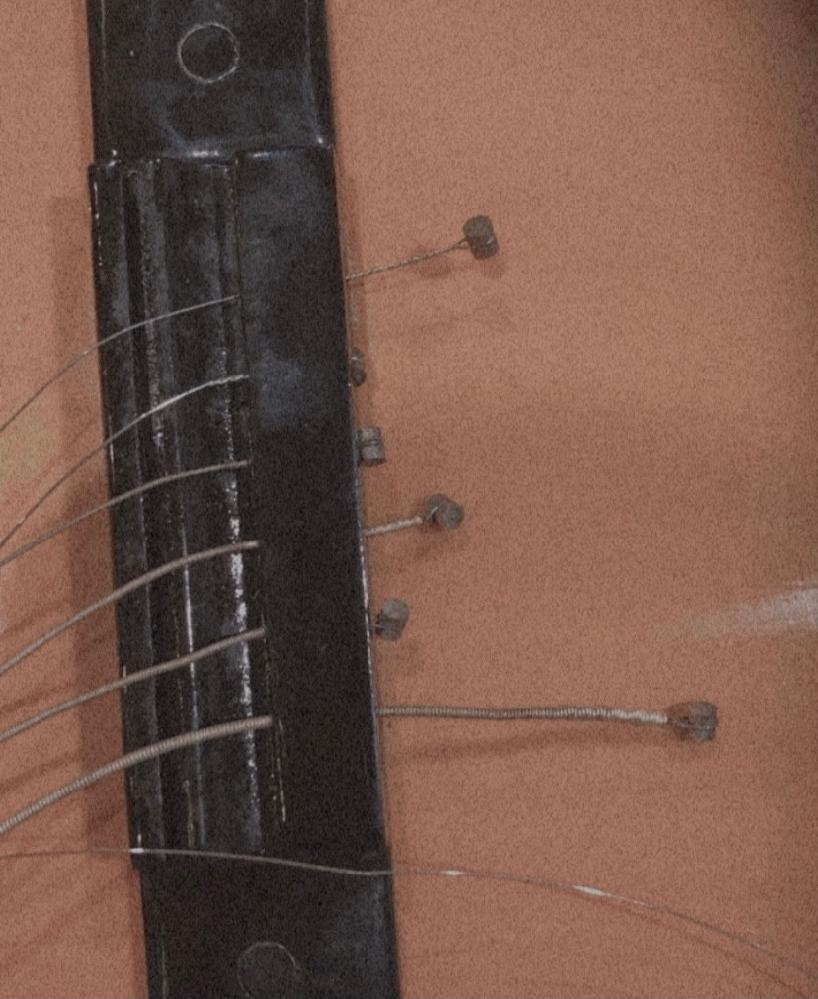 このタイプのアコギで弦交換をしているのですがどうやって取れば良いのですか?(><)