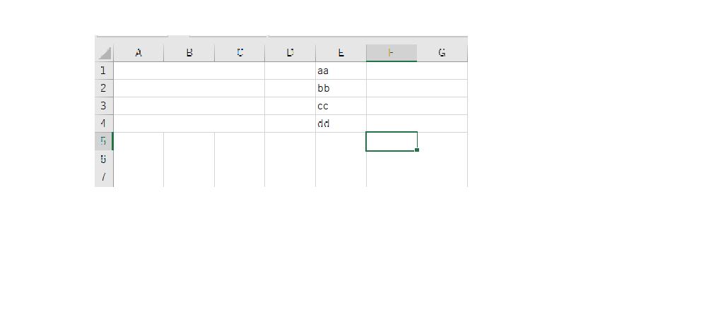 """最近VBAについて勉強を始めたものです。 セルの結合、背景色、フォントカラーについて質問です。 以下私が作成したプログラムです。 ###module1##### Dim r, start_col, finish_col Dim A1 As String, A2 As String, A3 As String, A4 As String For r = 1 To 4 A1 = wspx.Range(""""E1"""").Value A2 = wspx.Range(""""E2"""").Value A3 = wspx.Range(""""E3"""").Value A4 = wspx.Range(""""E4"""").Value start_col = 1 finish_col = 3 Range(Cells(r, start_col), Cells(r, finish_col)).Merge If r = 1 Then Range(Cells(r, start_col)).Value = A1 Range(Cells(r, start_col)).Interior.ColorIndex = 4 Range(Cells(r, start_col)).Font.ColorIndex = 1 ElseIf r = 2 Then Range(Cells(r, start_col)).Value = A2 Range(Cells(r, start_col)).Interior.ColorIndex = 10 Range(Cells(r, start_col)).Font.ColorIndex = 1 ElseIf r = 3 Then Range(Cells(r, start_col)).Value = A3 Range(Cells(r, start_col)).Interior.ColorIndex = 51 Range(Cells(r, start_col)).Font.ColorIndex = 1 End If Next r このプログラムでは、セル(""""A1"""")から(""""C1"""")、(""""A2"""")から(""""C2"""")...(以下略)を連結しています。 画像をご覧ください。連結までのプログラムは作動しています。 その後の処理で連結したセルに、読み取った文字を入力し(今回だと、変数A1やA2など)、背景色とフォントカラーを変えるプログラムを作成しようとしたのですが、range'メソッドは失敗しました globalオブジェクトというエラーが発生し、実行できません。 初学者の為解決法もわからない状況です。どなたかご教授頂けないでしょうか。 宜しくお願い致します。"""