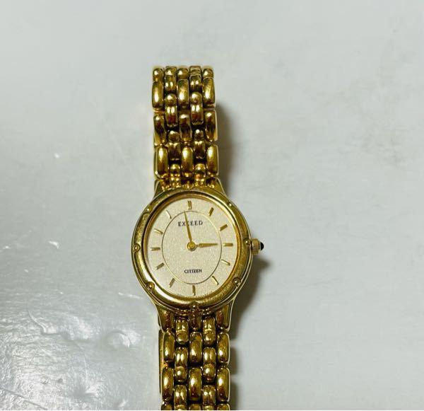 このCITIZEN EXCEEDの腕時計は本物ですか? 一応型番は4420-E42461と書かれていますが調べてもよく分かりませんでした。 何方か腕時計に詳しい方回答お願い致します。 また、お値段も出来れば知りたいです。 回答待ってます<(_ _*)>
