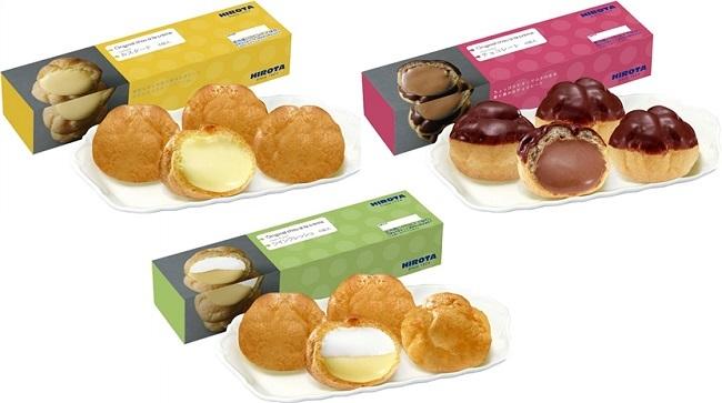 シュークリーム、どのタイプが1番好きですか?