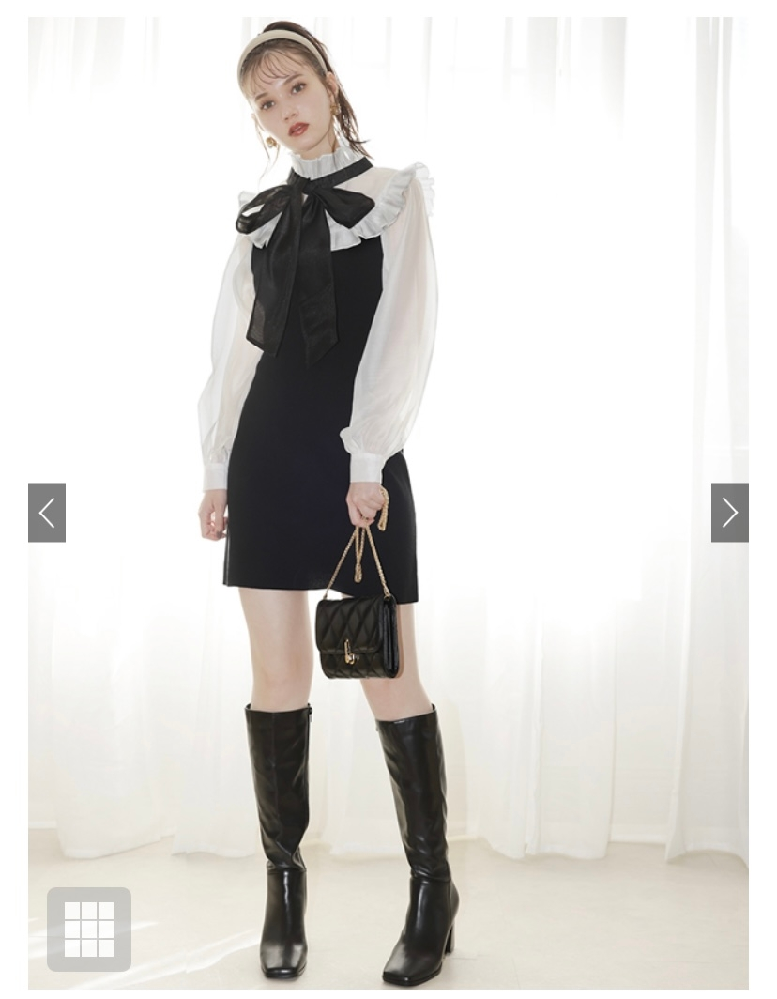これは地雷か量産型の服と言えますか? 諸事情で地雷又は量産型の服を着なければならず、普段このような系統を着ないため3000円以内で購入したいと考えています。他にも安いブランドなどあれば教えていただきたいです。