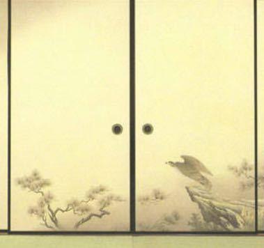 この引き戸、なんという種類? ふすまの画像ですが実物は木製の引き戸です。 両側にバーンと開くタイプの引き戸なのですが何という種類ですか? 一般的な引き戸は、引き違い戸や引き込み戸、片引き戸などが多いと思いますが…これは?? 事情があり扉の種類を詳しく知りたいです。