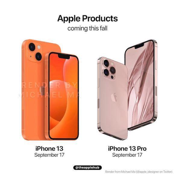 この画像の右のiPhoneは何色ですか? 機種で言うとiPhone13、13mini、13proのどれにこの色がありますか??一目惚れしてずっとスマホ変えてなかったのでほしいので教えてください!