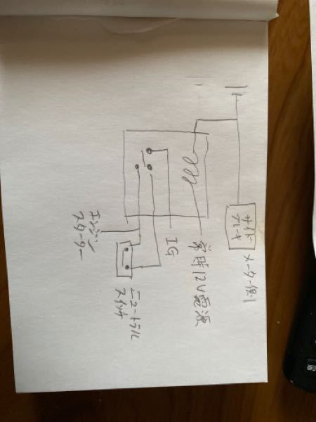 電装系に詳しい方アドバイス下さい。 エーモンの5極 コンパクトリレーを用いてニュートラルセンサーを自作して使用しています。 サイドブレーキが降りている時エンスタ作動せず。 ギアが入っている時エン...