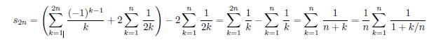 以下の画像の式を左から右に変形する過程を教えてください。できるだけ詳しくお願いします。
