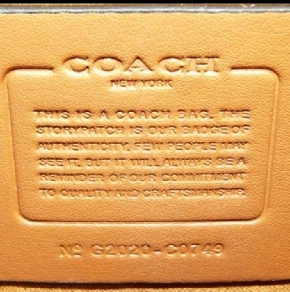 コーチのpremium アウトレットで購入したとの事ですが… 本物ですか?