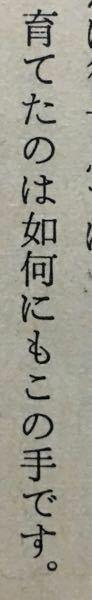 真ん中の漢字の読み方を教えて下さい