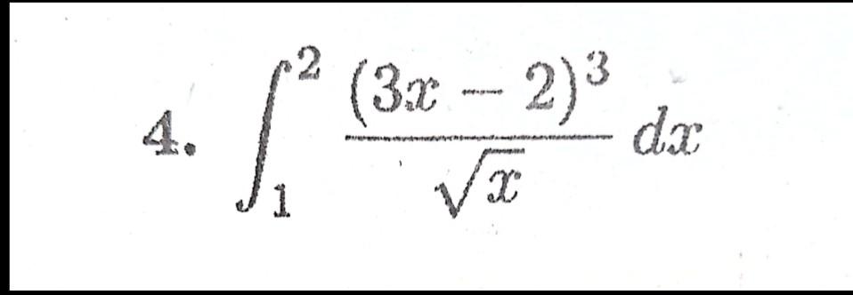 この定積分を求める問題解いて欲しいです!