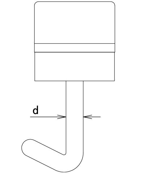 ガレージの波板、ワンタッチフックの太さについて。 ワンタッチ式ポリカフックの太さ(直径)が、箱やパッケージに明記されていないのはなぜでしょうか。お店で見た感じ全て同じ太さに見えました。長さに関しては明記されていたのですが、、、。太さは業界?では統一されているのでしょうか。 フックを差込む波板の穴と合わせる為に、太さは必要な情報だと思うのですが、明記されていないことを疑問に思い質問させていただきました。自分でノギスで測る前提なのでしょうか。 宜しくお願い致します。