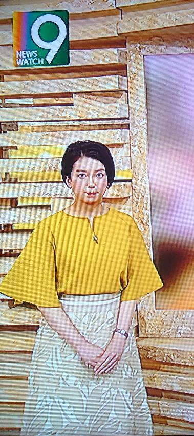 久々に和久田麻由子アナを拝みました。カボチャ色のトップスと柄のフレアスカート姿を採点願います。 Ps.昨日は仕事で視聴出来ませんでした。画像をご提供頂けたら幸いです。