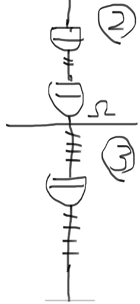 感知器の回路変更について聞きたいです。たまに図面で末端でもないのに感知器に終端抵抗が付いていることがあるんですがどう言うことですか? 教えてください。分かりやすく絵で表しています。