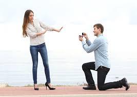 大喜利です プロポーズを断ってください