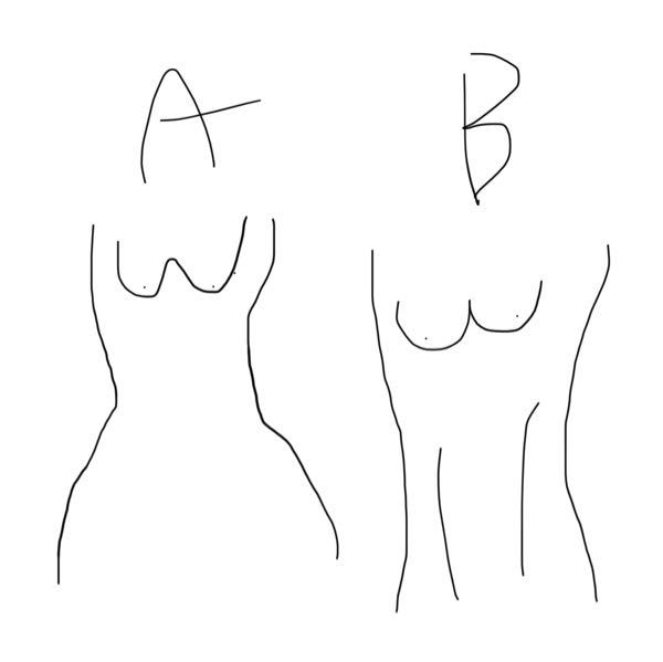 痩せているのに女性らしいウエストがありません。 AとB両方痩せています。 しかし私はBのような体です。 理想はAのような身体です。 どうしたらウエストがキュッとしまって腰〜おしりがボリュームある身体になれますか? 私は全体的に締まっている身体です