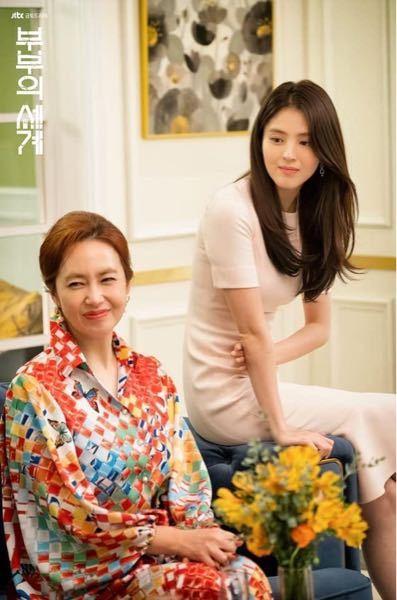 韓国ドラマ「夫婦の世界」でハンソヒちゃんが着用していたこのベビーピンクのワンピースはどこのブランドのものかわかる方いらっしゃいますでしょうか?