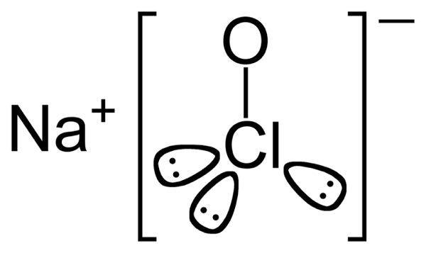この次亜塩素酸ナトリウムについてる、かわいい楕円形のようなものはなんですか?