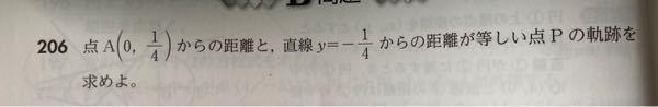 この問題の解き方をできれば詳しく教えて頂きたいです。よろしくお願い致します ♀️ 数学 数2 数II 軌跡 高校数学