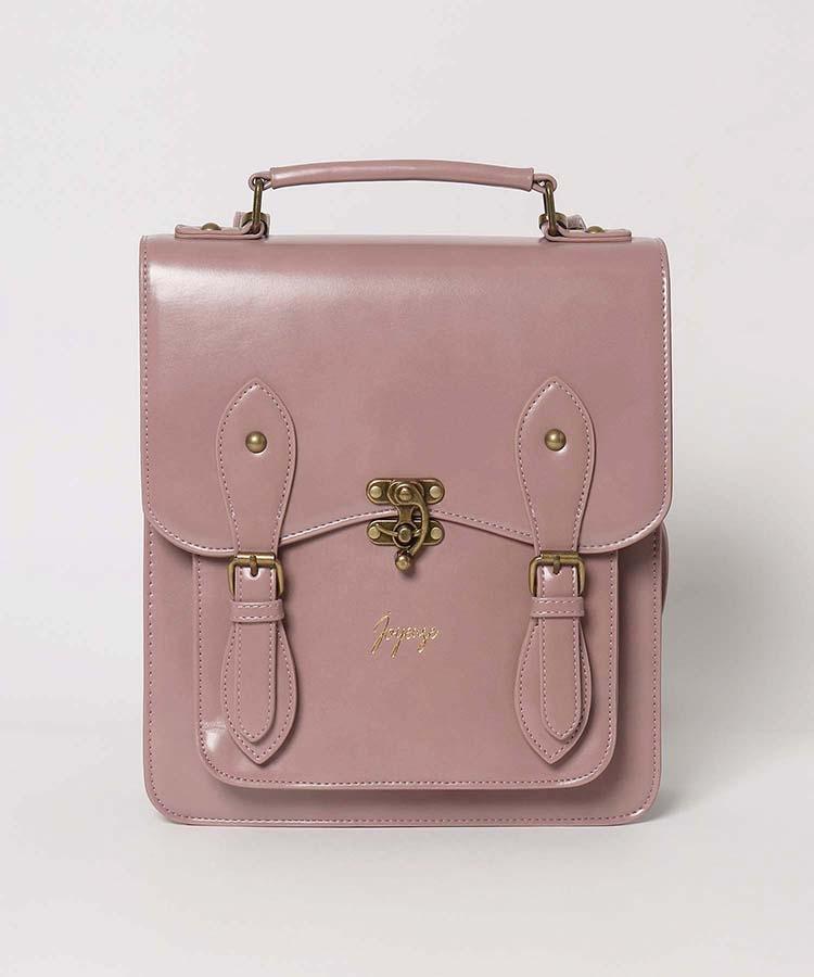 このバッグのカギ?の部分の名前は何ですか?