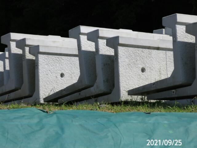 このコンクリート構造物は何ですか? 岐阜県川辺町で、 撮影20210925