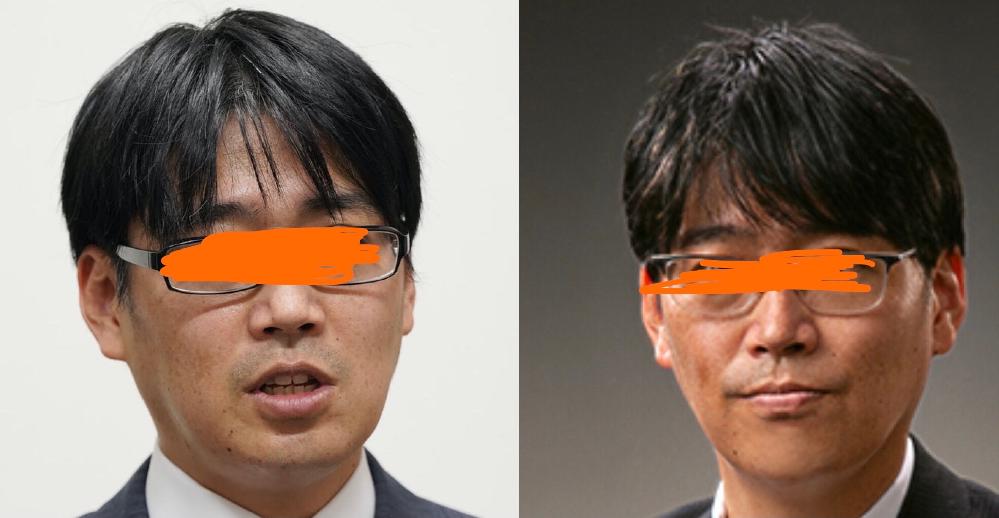 会社社長だとどちらのヘアスタイルが好ましいですか?