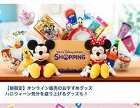 ディズニーオンラインショピングの朝限定では20周年のグッズは売ってないんですか?下の写真の所に入ってる商品が朝限定ですよね?