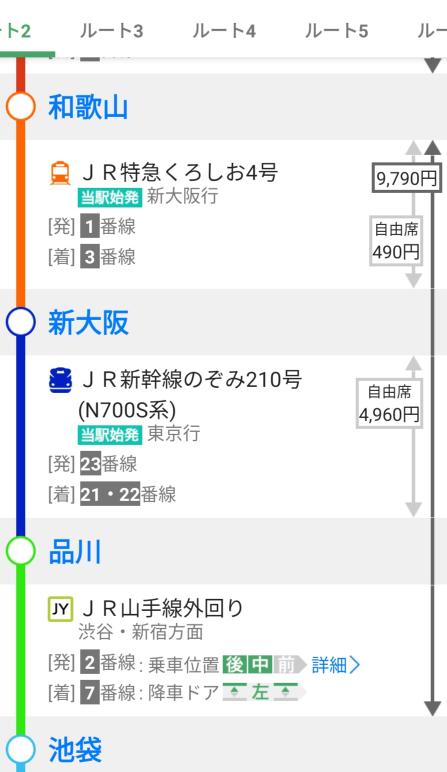 特急も新幹線も乗ったことなくてとても不安で質問に至りました… わかりにくい文かと思いますが、どうか教えてください…<(_ _)> 画像の感じで乗る場合、和歌山駅で9790円の乗車券と特急券を買ったら 新大阪に着いて、また特急券を買うために改札を通る時 乗車券を改札に通さないといけないんですかね。そしたら乗車券が無くなって、また新大阪から池袋までの乗車券を買う必要があるんでしょうか。 それが心配で…。 そうなる場合は和歌山駅では9790円分買わず、新大阪までの乗車券を買うべきなのでしょうか。 拙い文ですが、詳しい方いましたら教えてください ♀️