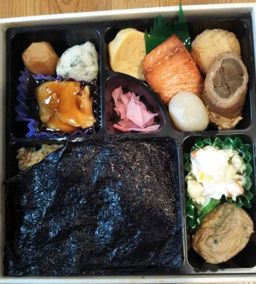このお弁当は1200円ですが、食べたいと思いますか?