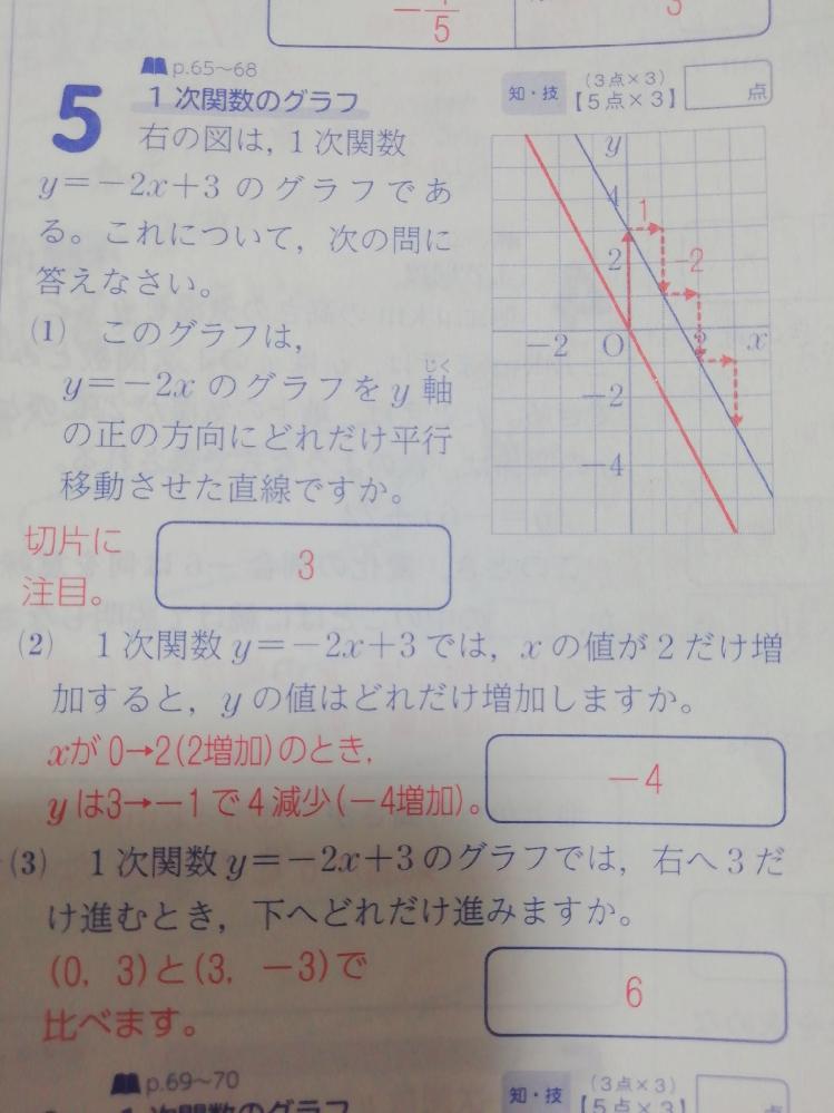 この5番の(3)の問題が理解できません 誰か解説お願いします。