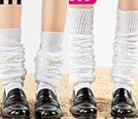 急ぎです。 身長150cmでルーズソックスを画像右と左の中間くらいで履きたいのですが、何センチのルーズソックスが良いでしょうか? ご回答お待ちしております。