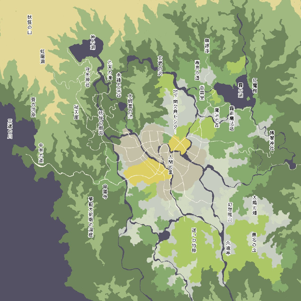 幻想郷に鉄道路線敷きたいのですが、重要路線はどの区間に設定するのがベターなのでしょうか。