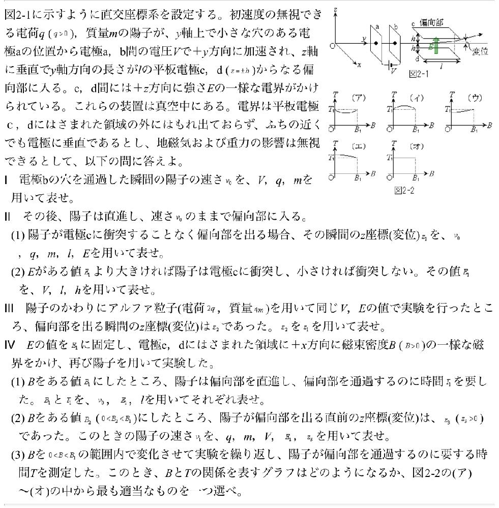 東大の過去問です http://www.riruraru.com/cfv21/phys/tup04f2.htm この問題を解いていて、v1を求める問題でz3を消去できないか(=z3を求めたい)試して見たのですが、上手く計算できませんでした。 苑田先生の授業で微積を使った物理はやっているので、高校の範囲を超えていても構わないので求め方を教えてほしいです。 入試には要らないなどのコメントはやめてください 物理をやるモチベーションにもしたいので解説していただけると嬉しいです