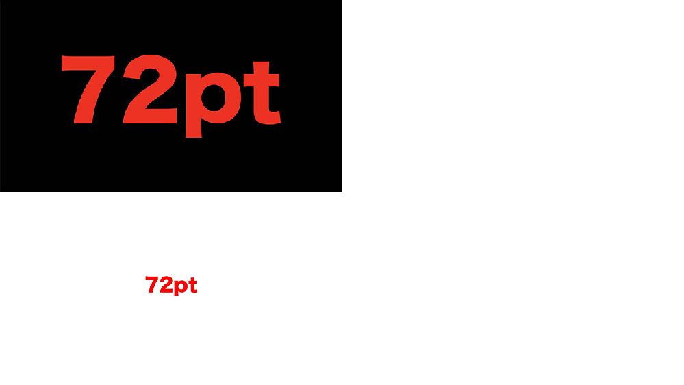 フォトショップとイラストレーターで両方の設定を、 解像度(300ppi)・画像サイズ(1280*720)・テキストサイズ(72pt)にしても、作成中の画面のテキストがイラレの方が小さくなってしまします。「100%ズームで印刷サイズを表示」のチェックを外すもやりました。 イラレをコピーしてフォトショに貼り付けると文字の大きさは同じ大きさになるのですが、、、 なぜ見た目が変わるのでしょうか? *添付画像は上がPhotoshopで下がIllustratorです。