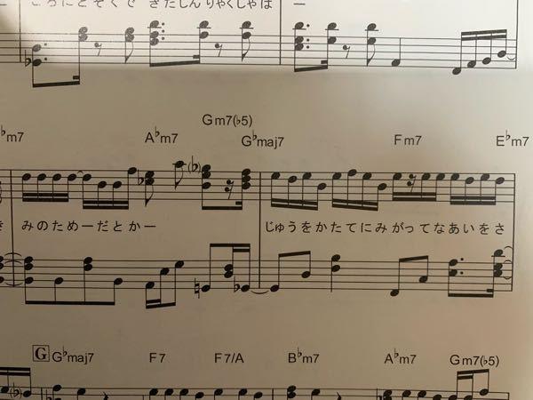ピアノで両手の合わせ方で質問です。 画像のような16ビートの場合、 右手が左手に合わせるように練習すればいいですか? 片手のみであればリズムがとれるのですが、両手になるとリズムが複雑すぎて合わせづらいです。