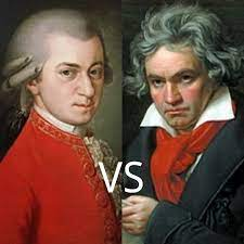 ベートーベンとモーツアルトのどちらが、偉大ですかね? 理由を書いて教えて下さい。