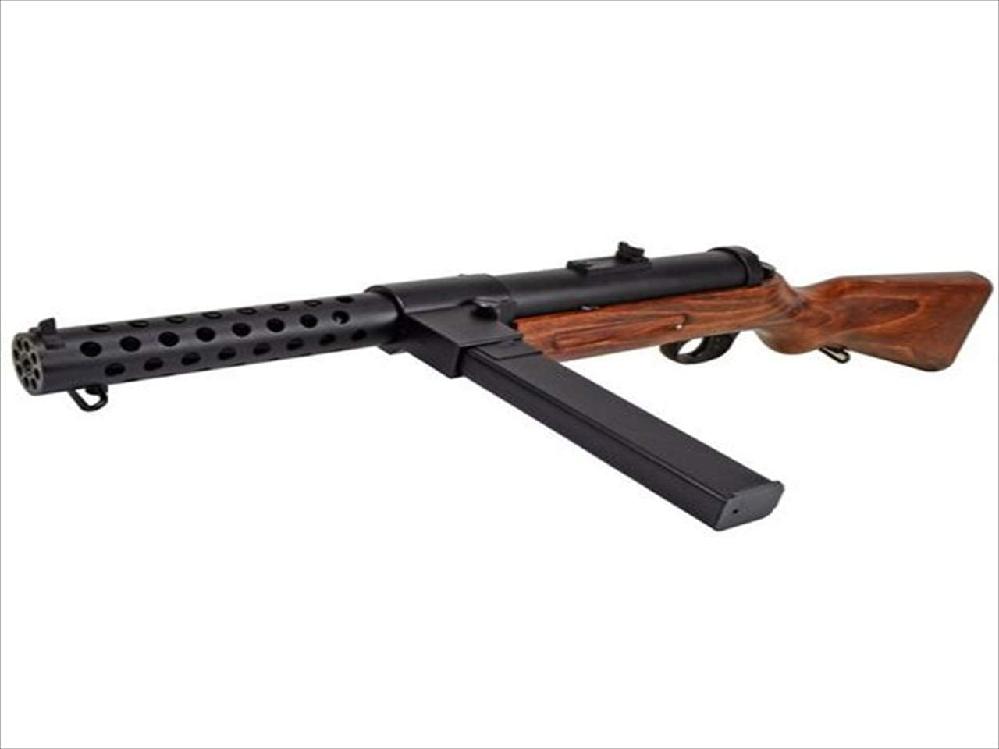 ハイドリヒはM28サブマシンガンを撃ちましたか?