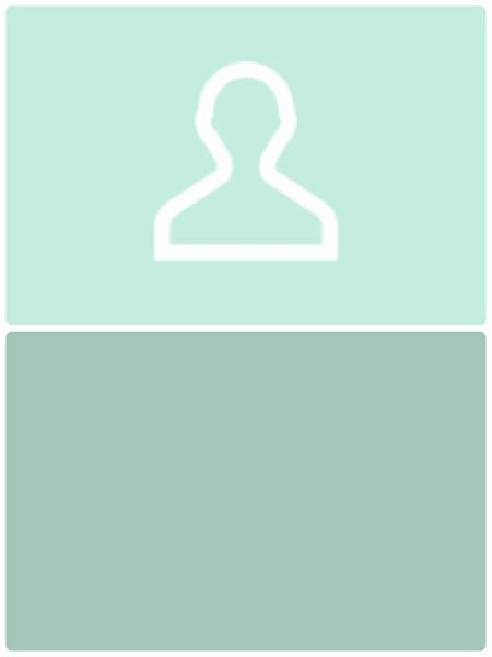 画像加工得意な方に質問です。 LINEの初期アイコンを作りたいのですが、下の二つを合わせた画像がほしいです。 iPhoneのアプリで作る方法はありますか? 下の色ベースに上の人型マークを入れたいです 画像の大きさは1:1で作りたいです。