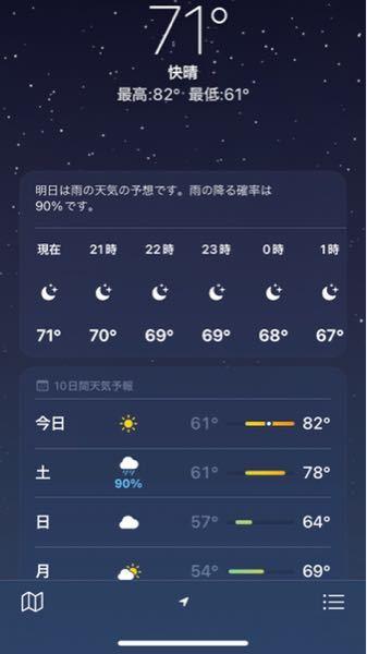 この71度とは温度の数値ですか?温度なら30くらいでもっと低い気がします。教えてください。温度が知りたいです
