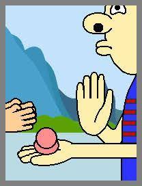 手首を叩いてお菓子等を飛ばすアレや鞭を振り戻す瞬間のような、動く物体の根元に進行方向と逆の力をぶつければ先端が加速する現象ってなんと言いますか? 慣性の法則とは少し違う気がします。