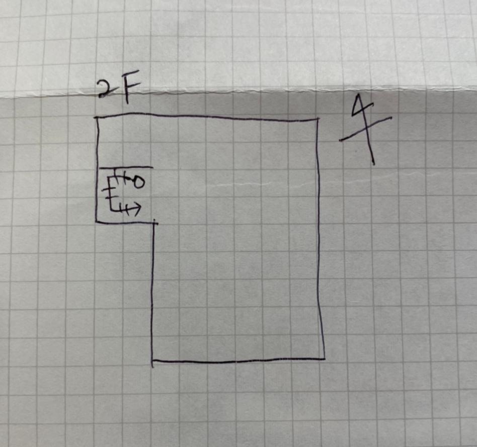 2階のいい間取りが思いつかず、 いい間取りがあればぜひアイデアを頂きたいです。 ・3人家族 ・メイン寝室、洋室、書斎の3部屋もしくは、メイン寝室、洋室2部屋を希望です