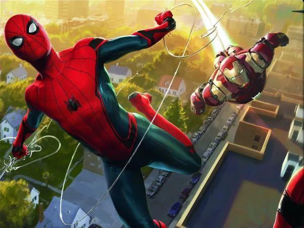この画像の全面の物を探しています。 スパイダーマンホームカミングの物です。