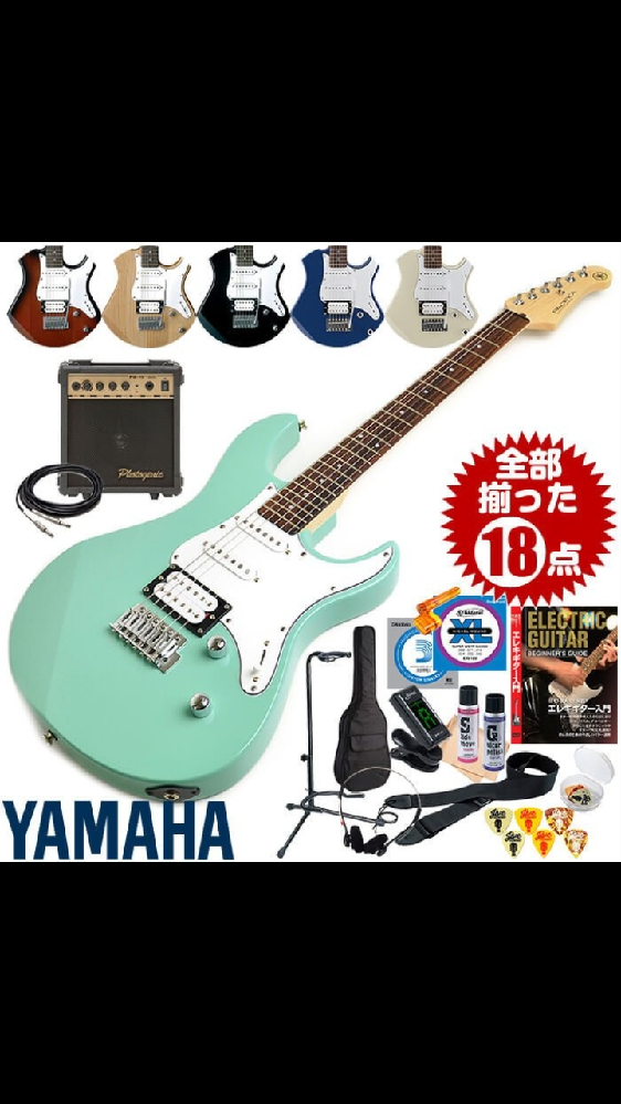 10代女子です 最近、バンドリにハマり、ギターを買おうと思うのですが、島村楽器のおたえちゃんのギターか、好きな色のミントグリーンのギター、どちらがいいでしょうか? 好きな色はミントグリーンなのですが、 おたえちゃんのギターということで惹かれています ご意見よろしくお願い致します