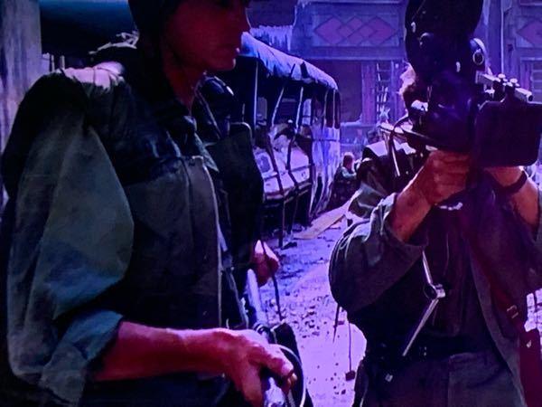 映画フルメタルジャケットでアメリカ兵が来ているこのベストはなんというモデルですか? ベトナム戦争