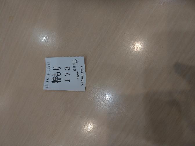ゆで太郎について質問です 173とありますが、本日の173人目のお客さんという意味でしょうか