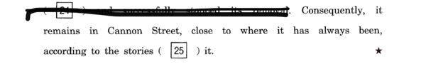 至急おねがいします! 英語の問題で、間違えたところの理由が分かりません。写真あるので見て欲しいです。 25に入るものをsurroundにしたところ、正解はsurroundingでした。 納得がいかいかないというか、、どう区別したらこうなるのか教えて欲しいです。。(><)